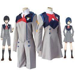 Anime LIEBLING in die FRANXX Cos HIRO ICHIGO Null Zwei MIKU KOKORO Schuluniform Cosplay Kostüm Sets Halloween Anzug Outfit