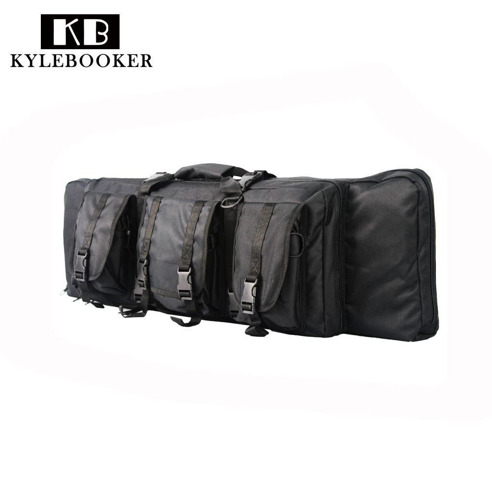 38 inch gun случае Охота кофр дробовик пистолет сумка airsoft защиты кобура чехол сумка с журналом аксессуар сумка