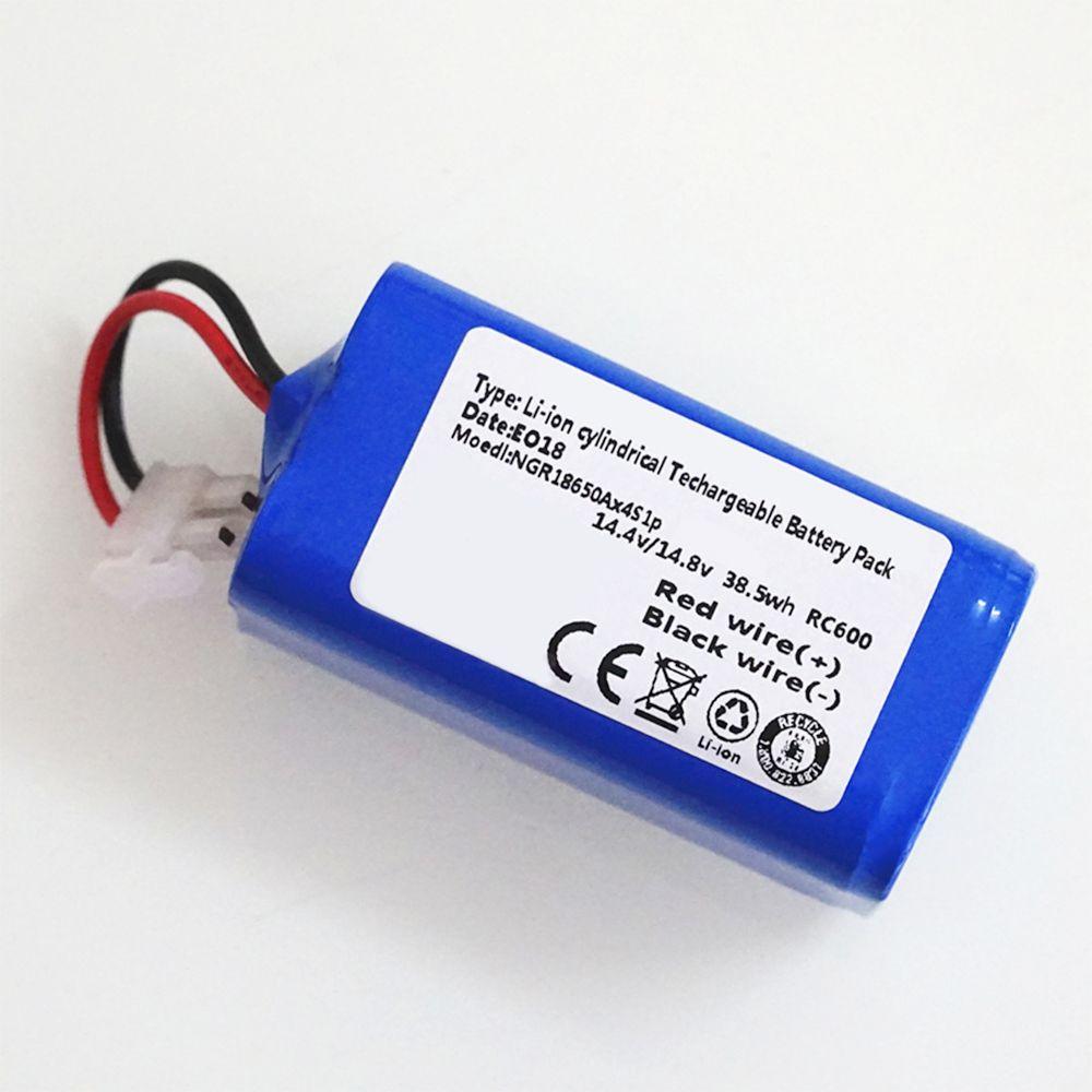 14.8 V 2600 mAh robot aspirateur bloc-pile remplacement pour chuwi ilife v7 V7S Pro Robotique Balayeuse qualité supérieure