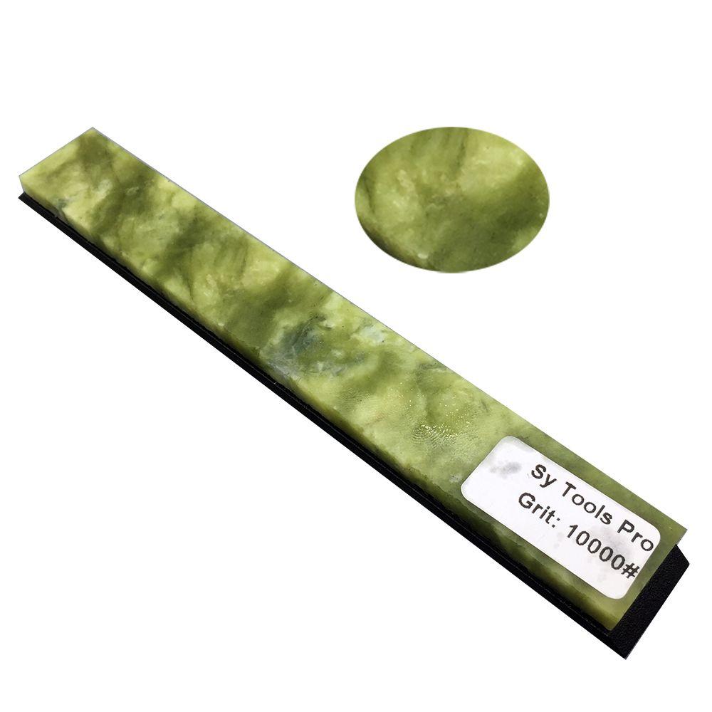Aiguiseur de bord Apex couteau 10000 pierre à aiguiser pierre à aiguiser, pierre d'agate verte d'eau et d'huile