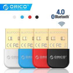 ORICO беспроводной USB Bluetooth адаптер 4,0 Bluetooth ключ aptX музыкальный звуковой приемник адаптер Bluetooth передатчик для компьютера