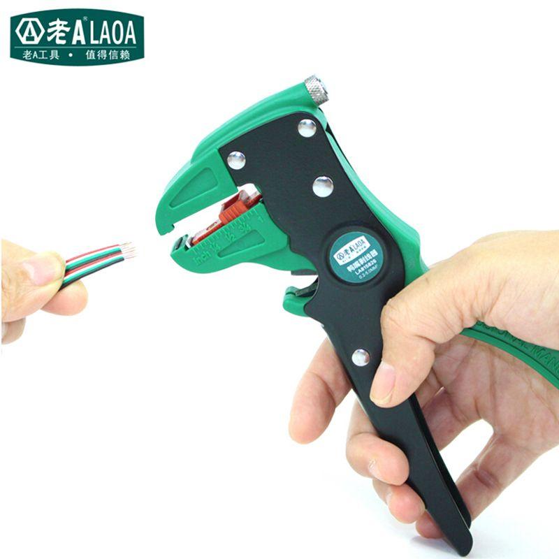 LAOA pince à dénuder haute qualité pince à canard multifonction outils de dénudage de fil de spécialité fabriqués à Taiwan