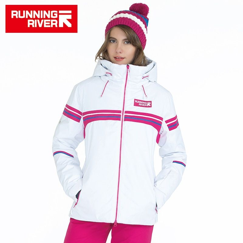 RUNNING RIVER Brand Winter Ski Jacket For Women 4 Colors 6 Sizes Outdoor Sports Woman Jackets High Quality Women Clothing #A5024