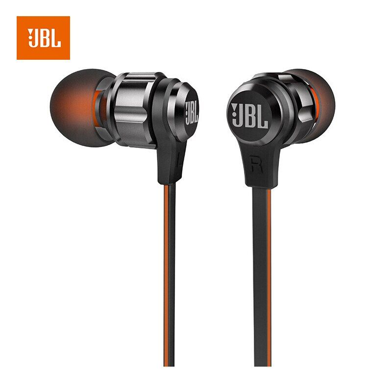 JBL T180A In-ohr Musik gehen 3,5mm Wired Stereo Headset Linie mit Mikrofon