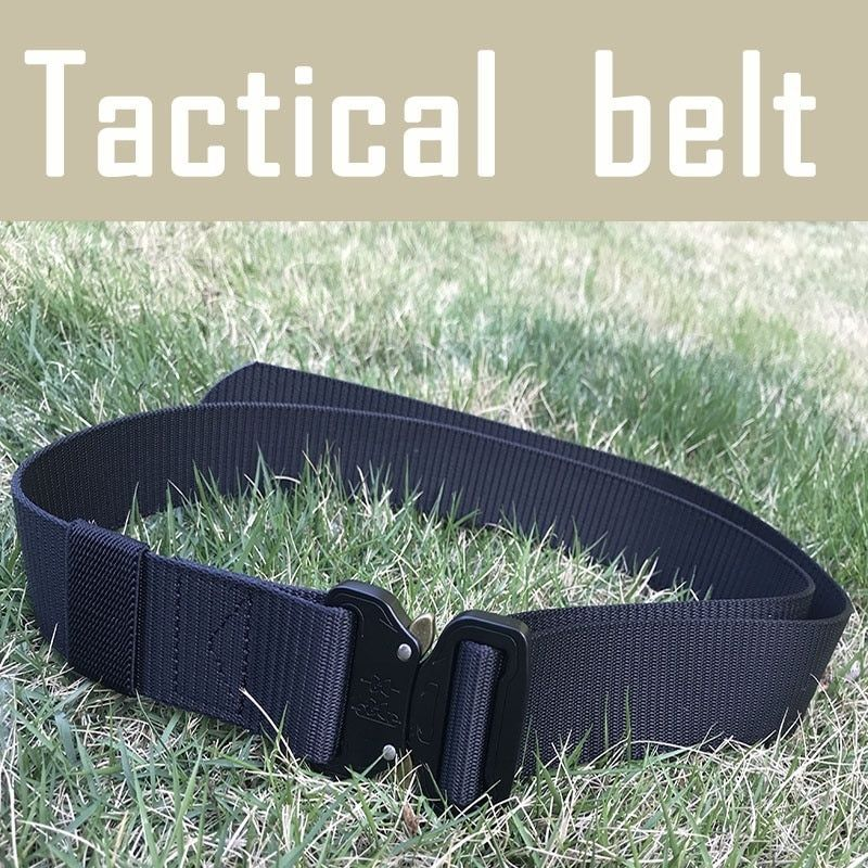 Waist Support Waist Belt Tactical Army Military Combat Knock Off Emergency Survival Waist Straps Heavy Duty Belt Hunting
