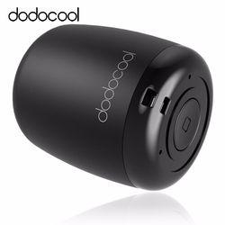 dodocool Loudspeaker Bluetooth Speaker Portable Stereo Handsfree Music Square Box Mini Wireless Speaker for Compute Phone PC