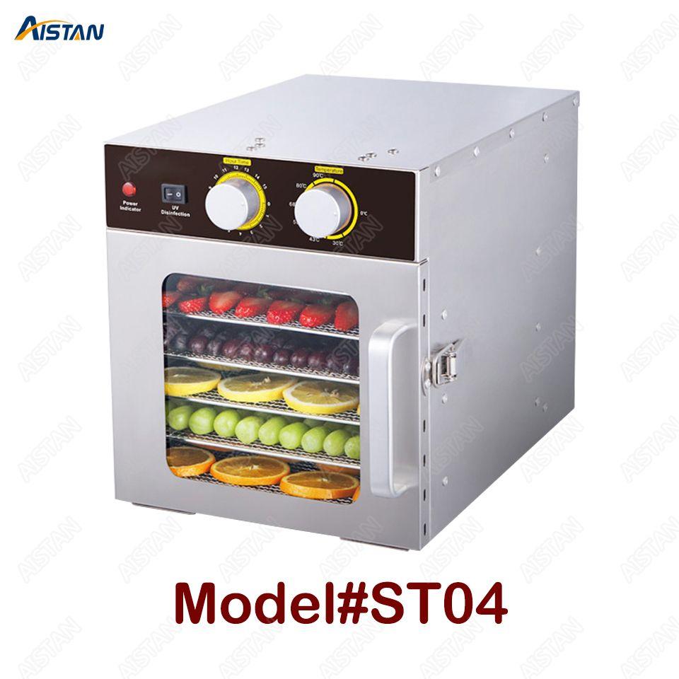 XH01 XH02 6 10 Trays Dörr Snacks Dehydration Trockner Obst Gemüse Kraut Fleisch Trocknen Maschine Edelstahl