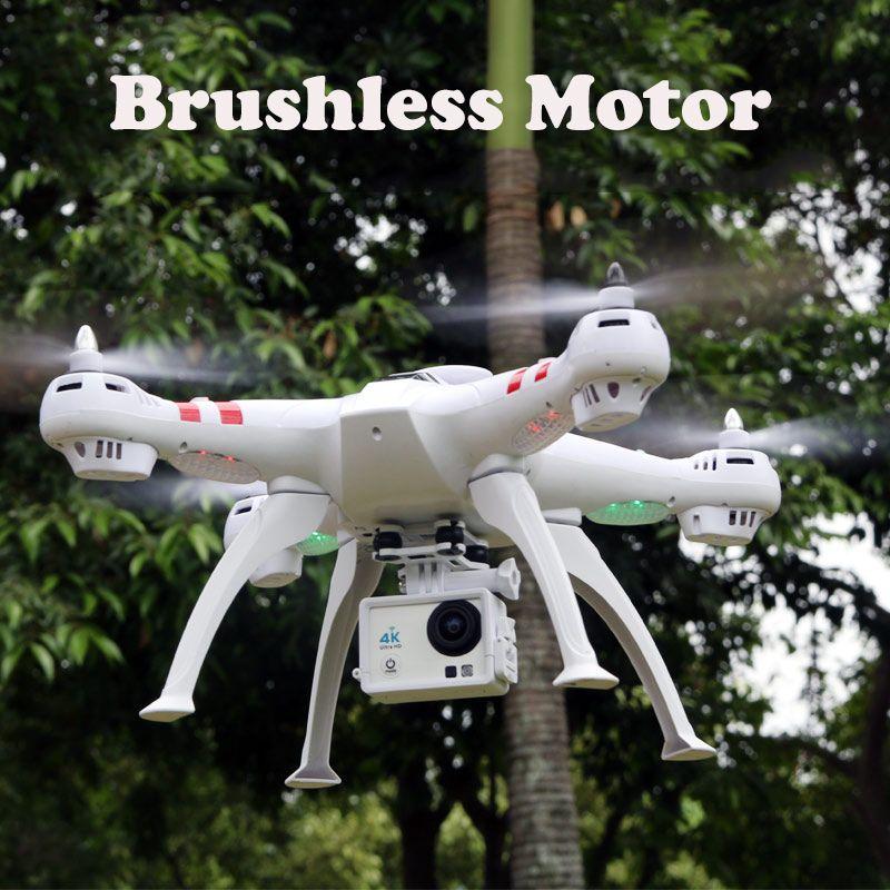 Vier achsen high-definition-kamera X16 4 Karat kamera RC Hubschrauber FPV Quadcopter Brushless Motor RTF Automatische Rückkehr schweben Drone