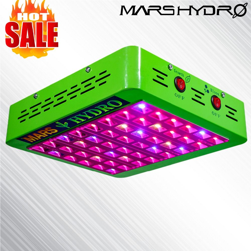 MarsHydro Reflector 240w LED Grow Light Full Spectrum Veg Flower Medical Plant Panel Indoor Greenhouse