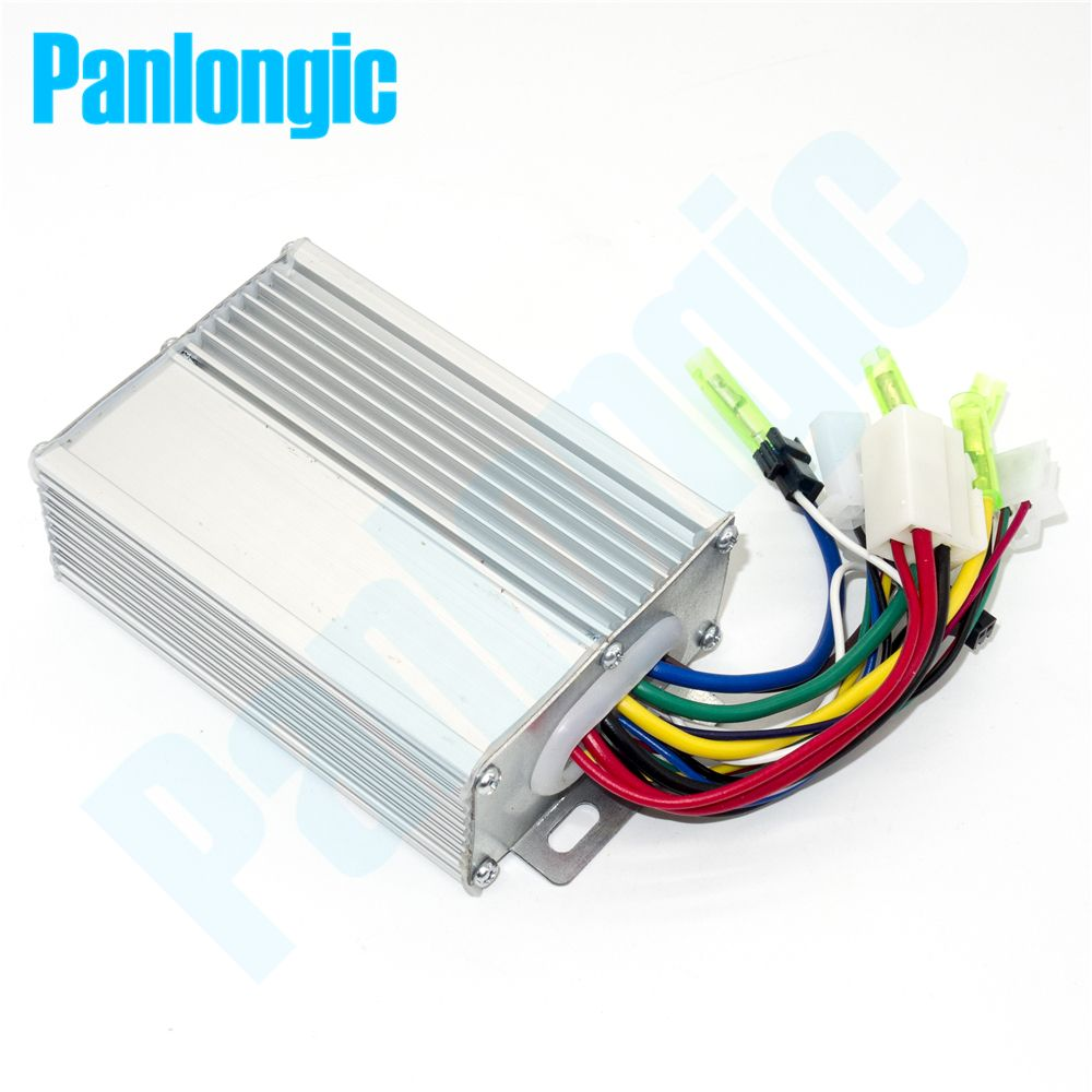 Panlongic 36V/48V 350W Electric Bicycle E-bike <font><b>Scooter</b></font> Brushless DC Motor Speed Controller Simple Edition