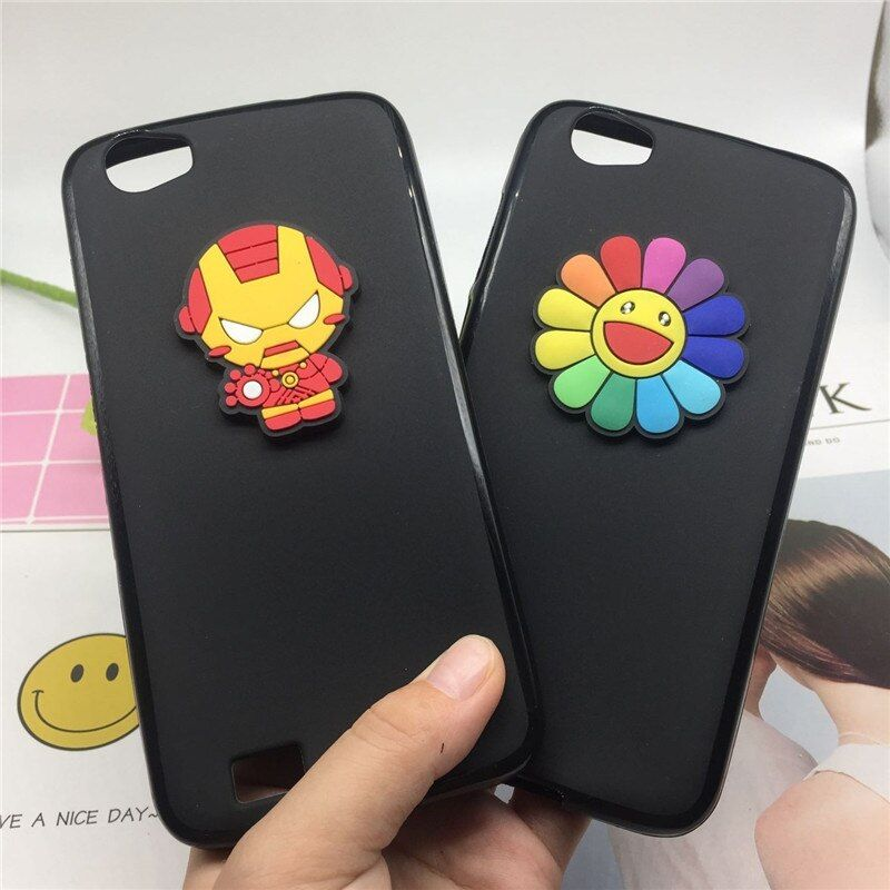 Korean Style Phone Case Cover for Doogee T6 / T6 Pro Super Hero Back Covers Soft Silicone Cases Fundas Coque Capa