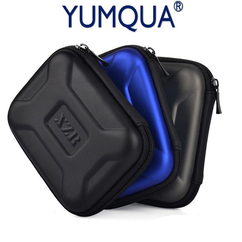 YUMQUA Portable Voyage Power Bank USB Cas Multifonction Câble Sac Puissance Banque externe WD seagate Disque Dur Protéger Poche