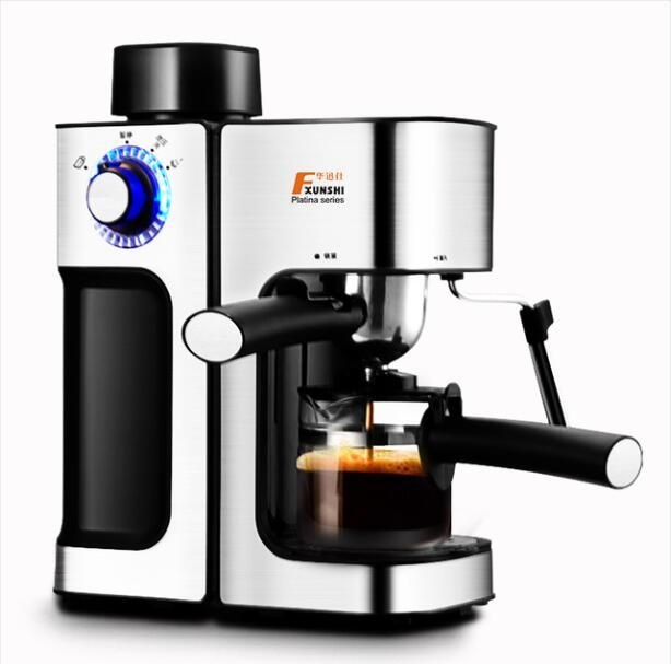 MD-2006 Italian style Coffee machine Household Commercial Semi-automatic Steam type Playing milk foam Free shipping