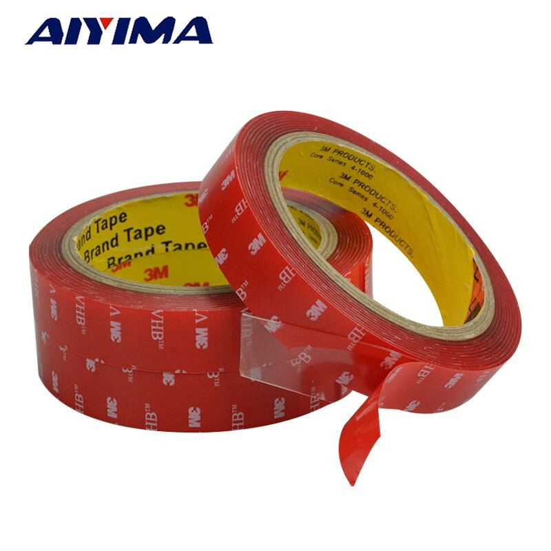 3m strong acrylic adhesive film 5-20mm 3M4910VHB double sided tape for glass High temperature resistant non-trace
