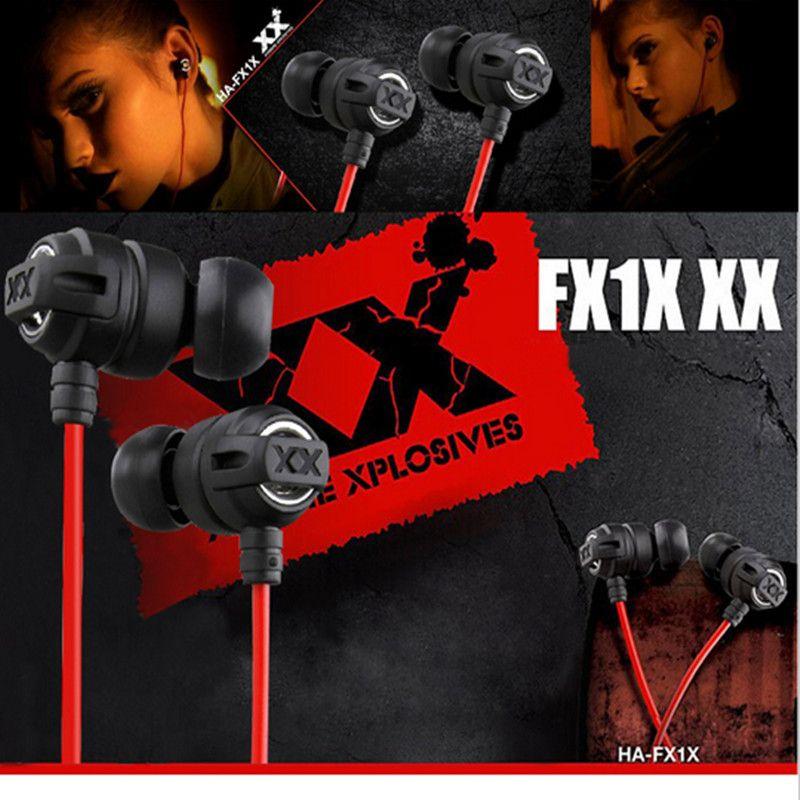XEDAIN 3,5mm Kopfhörer tragbare HA-FX1X Inear Kopfhörer Klaren klang Bass Headset Gaming Auriculares für xiaom iPhone MP3 MP4 PC