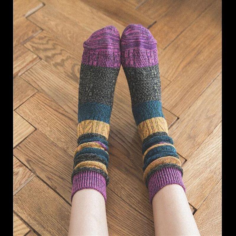 2017 Women winter socks animal cotton long cocks fashion socks 10 pairs