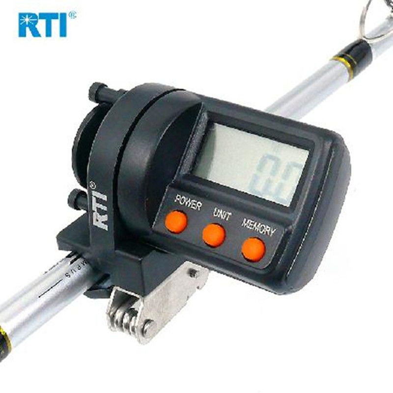 RTI 999m Fishing Line Counter ABS Plastic Digital Display Depth Finder Reel Meter Gauge Fishing Tool Para Pesca Acesorios Tackle