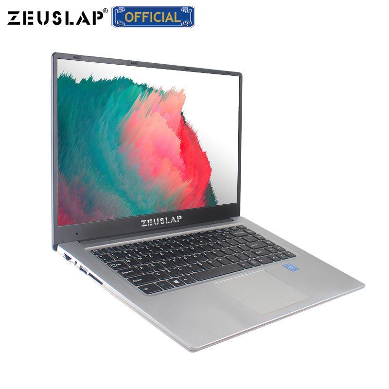 ZEUSLAP Neue 15,6 zoll 6 GB Ram Dual Festplatten 1920*1080 P IPS Bildschirm Windows 10 System Schnelle Boot Günstige netbook Laptop Notebook Computer