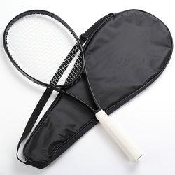 Blade98 raket tenis Serat Karbon KEPALA UKURAN 98 sq. in. hitam Raket Berbusa menangani 4 1/4, 4 3/8, 4 1/2 dengan tas