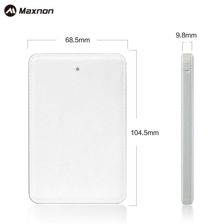 MAXNON Mini Carte de Crédit 4000 mAh Universel Portable Chargeur Externe battey cas Banque D'alimentation De Secours pour Samsung Xiaomi iPhone 6