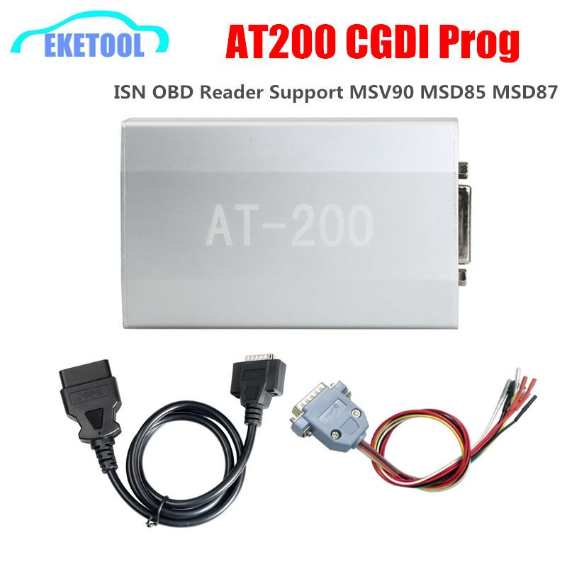 Neueste AT200 ECU Programmierer IST OBD Reader Arbeitet CGDI Prog Für BMW Auto Schlüssel Programmierer BEI-200 Unterstützung MSV90 MSD85 MSD87 ZU 200