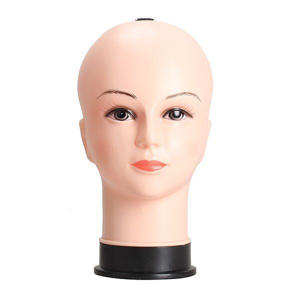 Real Female Mannequin Head Modelo Peluca Sombrero Exhibición de La Joyería de la Cosmetología Maniquí HB88