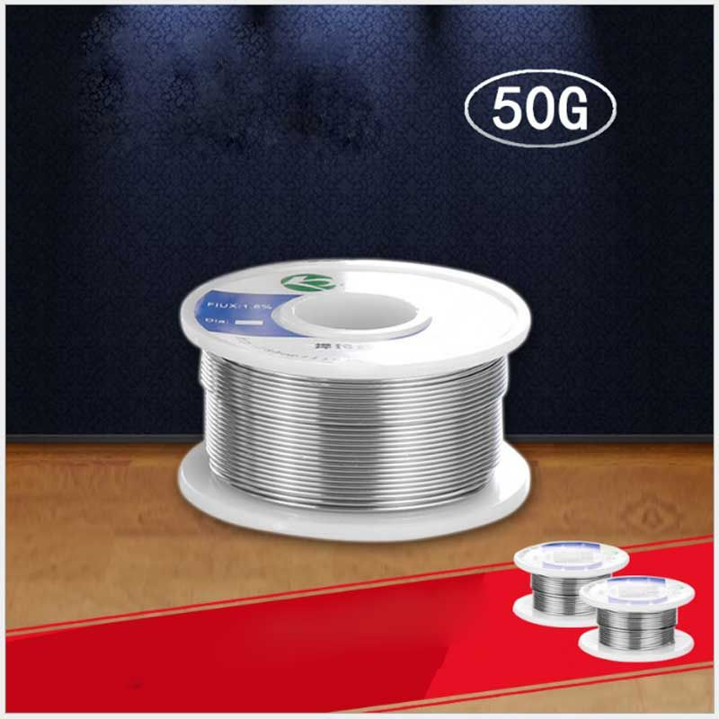 High-quality 50g solder wire solder wire 0.6MM ~ 1.0MM tin wire electronic components soldering tin wire
