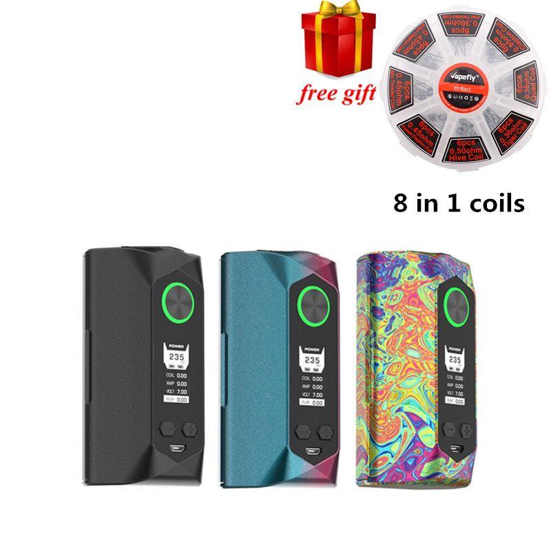 Freies geschenk!!! Original Geekvape Klinge mod 235 Watt mit flugzeug-aluminium material Klinge Feld MOD Unterstützung 18650 20700 21700 Batterie Vape