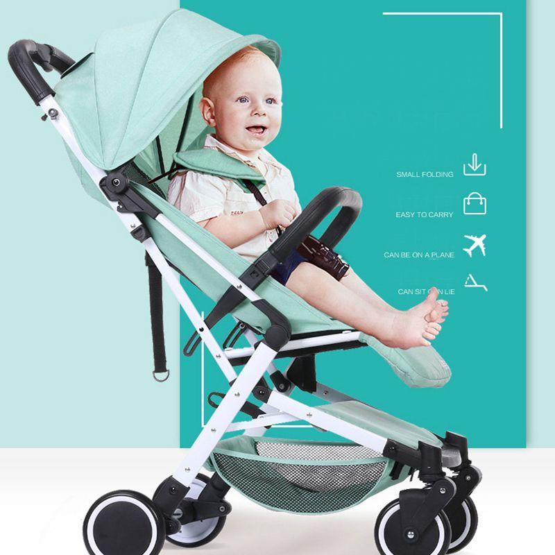 2018 neue heißer verkauf 5,9 kg leichte falten kinderwagen für 0-3 jahre alt baby können gehen auf die flugzeug