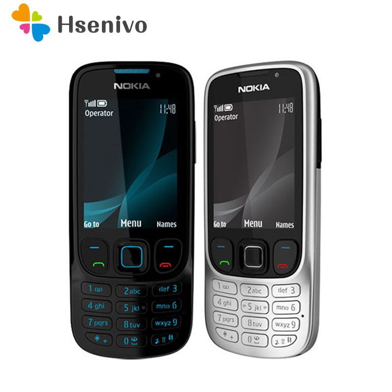 6303 Original Unlocked Nokia 6303 Classic FM GSM 3MP Camera Mobile phone Russian keyboard support~Free shipping