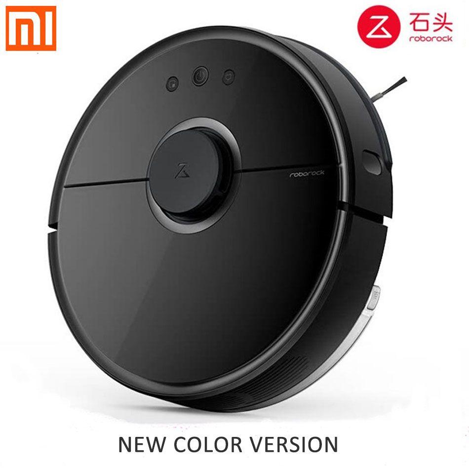Neue Xiaomi Roboter Staubsauger Roborock Schwarz S55 Mijia Wischen Kehr Roboter-staubsauger Remote Mihome APP Wifi Steuer