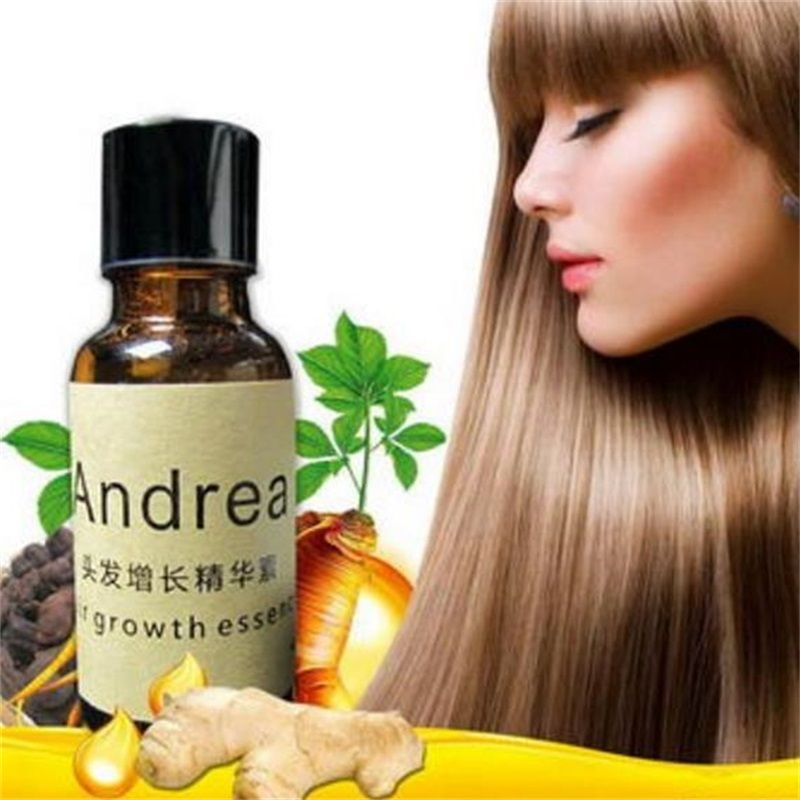 Original Andrea Hair Growth Essence Hair Loss Liquid 20ml dense hair fast sunburst hair growth grow Restoration pilatory