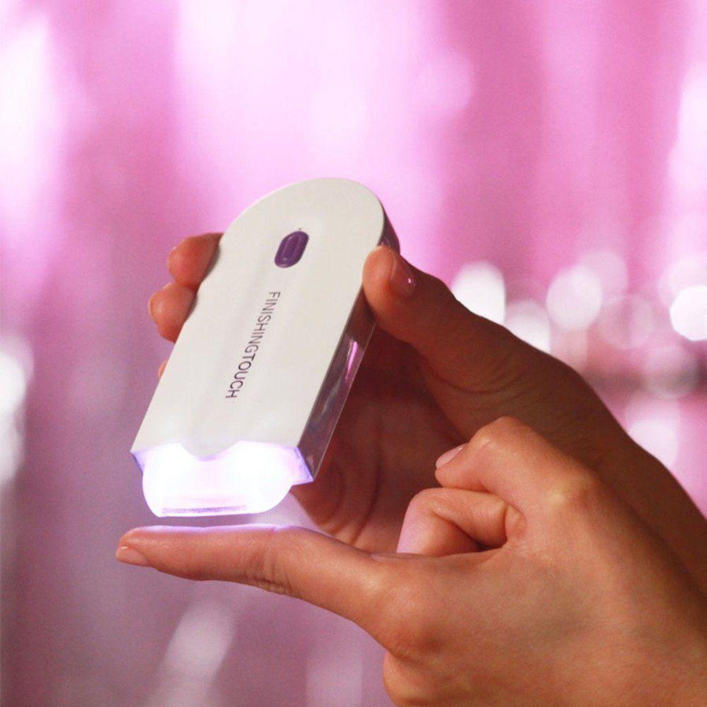 Rechargeable Laser Épilation Outils Visage Soins de Santé Du Corps Épilation Léger Remover Épilateur de Batterie-Alimenté Femmes