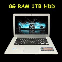 1920x1080 P FHD Экран 8 ГБ Оперативная память 1 ТБ HDD Windows7/8/10 ультратонкие 4 ядра быстро бег ноутбука Нетбуки Тетрадь компьютер