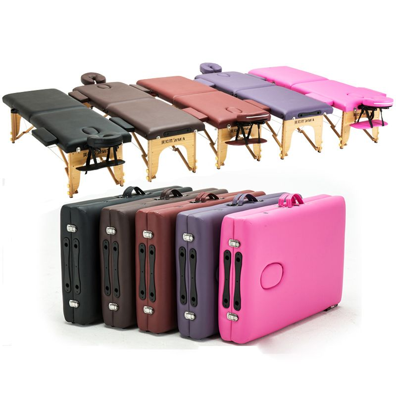 Multifunctional Portable Spa Massage Tables Foldable with Carrying Bag Salon Furniture Folding Bed Beauty Massage Table