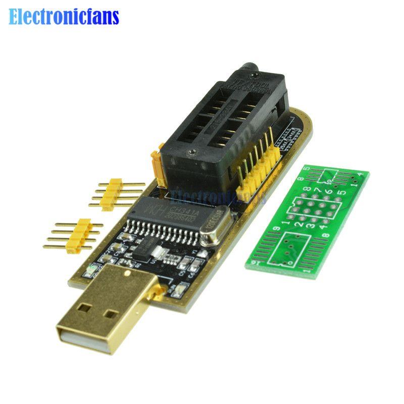 Automatische Identifikation! Usb-programmierer CH341A Serie 24 EEPROM Schriftsteller 25 SPI Flash BIOS Board Modul USB zu TTL 5 V-3,3 V