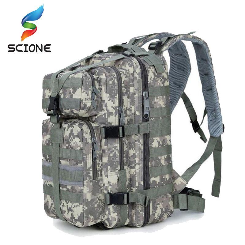 2018 Военный тактический ударный рюкзак Военный водонепроницаемый рюкзак Открытый кемпинг Рюкзак