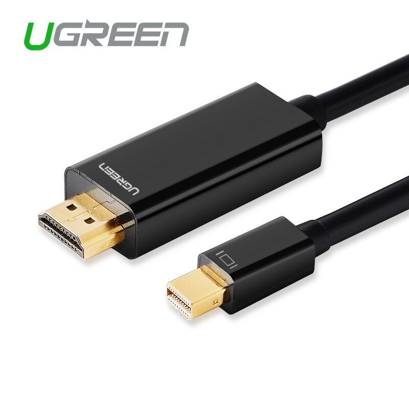 Ugreen Thunderbolt Дисплей MINI DP к HDMI кабель для мужского адаптер для MacBook Pro воздуха проектор Камера ТВ Поддержка 4 К * 2 К 3D