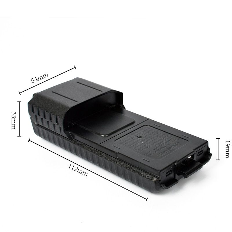 3PCS BAOFENG UV-5R 5RA 5RB Extended Battery Case 6*AA Extended 5R Battery Case Box Walkie Talkie Battery Case UV-5RL