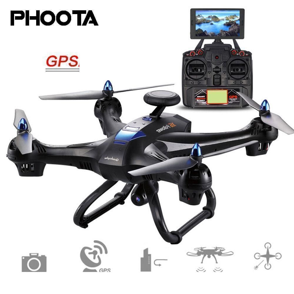 Phoota Drone 2,4 ghz GPS FPV WiFi 2.0MP 720 p Kamera Hover Höhe Halten Fernbedienung Quadcopter Flugzeug