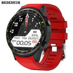 Beseneur F1 Sport Menonton Pintar dengan GPS Kamera Dukungan Kartu SIM Jam Tangan Stopwatch Bluetooth Smartwatch untuk Android IOS Telepon
