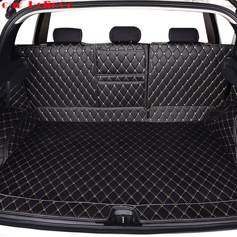 Car Believe Custom car trunk mat For nissan qashqai j10 j11 x-trail t31 t32 Cargo Liner Interior Accessories Carpet car styling