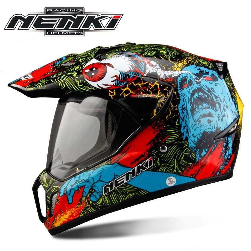 Dual Sports ATV Motorcycle Motocross Helmet Capacete da Motocicleta Cascos Moto Casque Kask Dirt Bike Racing Helmet