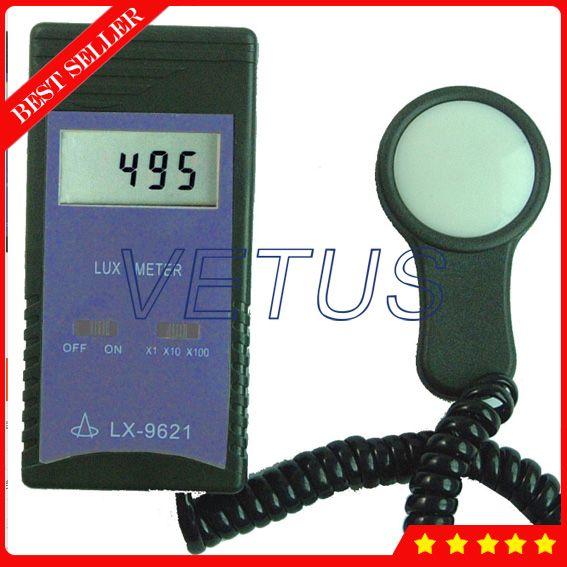 LX-9621 Digital Lux tools with Digital Lux Meter Photometer digital illuminance meter