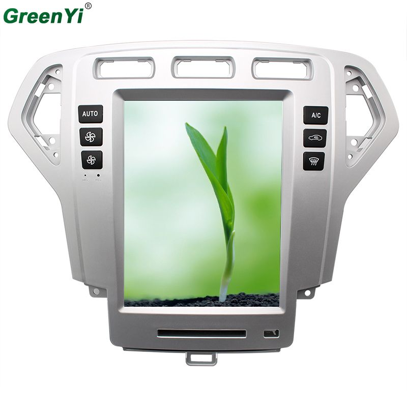 Android 6.0 2GB Quad Core 10.4 Vertical Screen Android Car DVD GPS Navigation Radio Player Fit Ford Mondeo 2009 2010 2011 RAM