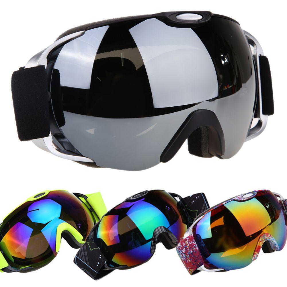 Profesional gafas de esquí doble capa UV400 anti-niebla gran esquí gafas máscara de esquí hombres mujeres nieve snowboard gafas