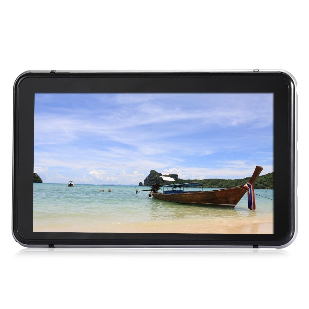 706 7 inch Truck Car GPS Navigation Navigator with Free Australia Map Win CE 6.0 / Touch Screen / E-book / Video / Audio Player