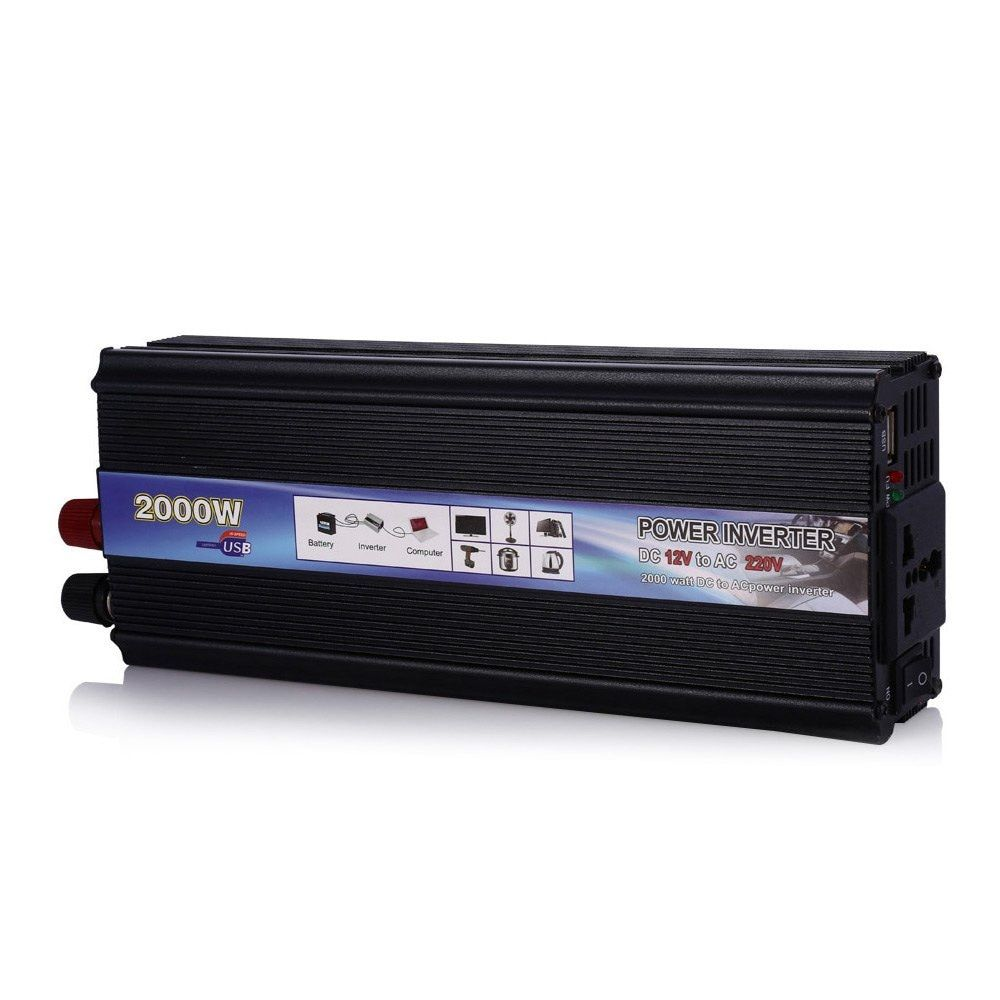 2000W MAX  DC 12V AC 220V Vehicle Power Supply Switch On-board Car Inverter Charger POSTNL Free