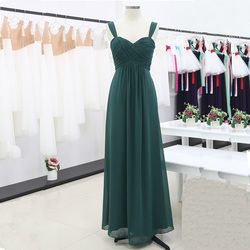 Women Pleated Bridesmaid Dresses Elegant Ruched High-waisted Long Formal Wedding Party Dresses for 2020 Vestido Bridesmaid Dress