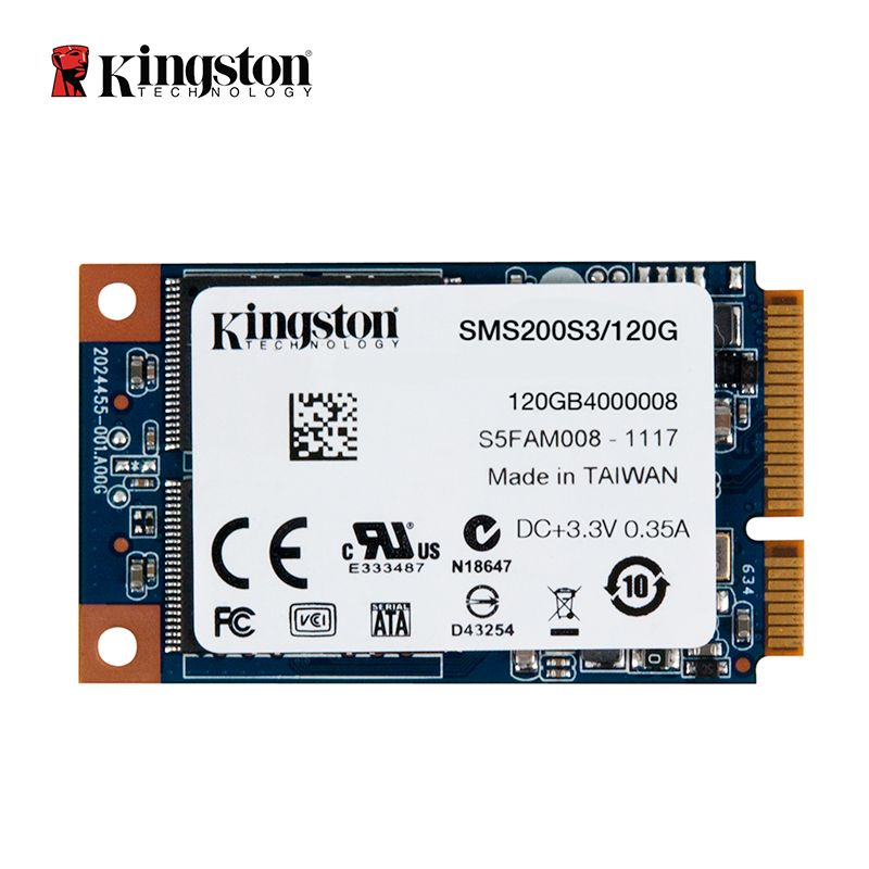 Kingston SSDNow mS200 Drive mSATA SSD solid-state drive 120GB Internal Solid State Drive Hard Disk For Laptop Notebook